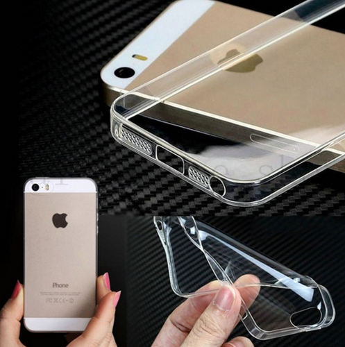 Ultra Thin 3mm TPU Soft Transparent Case Cover For iPhone 5 5s