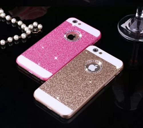 Stunning Glitter iPhone 6 cover/case with gemstone detail - Sparkly Bling!
