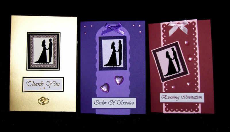 wedding stationery card idea