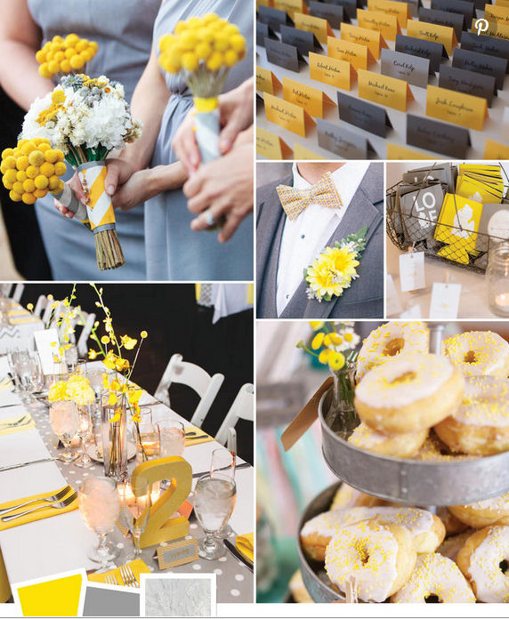 How To Use Two Colours In Your Wedding Theme