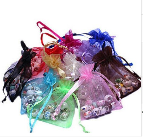 Organza Bags x 10 in lots of shades