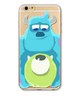 Monsters Inc Design iPhone 6 Silicone Soft Protective Cover