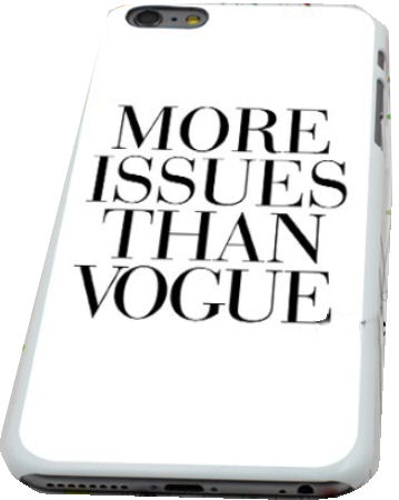 More issues than Vogue Design iPhone 6 Hard Plastic Protective Cover