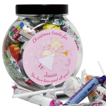 Personalised Angel Sweet Jar