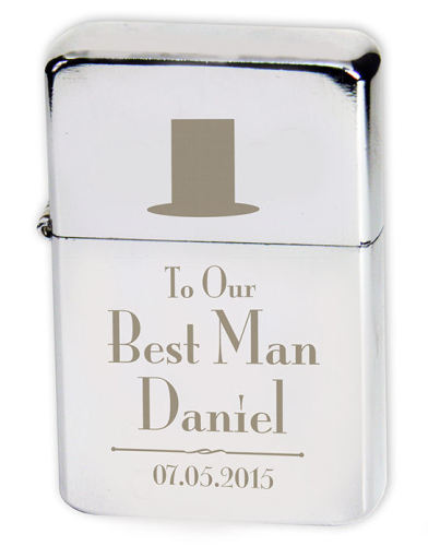 Decorative Wedding Lighter - Best Man, Groom, Father of Bride and more choi