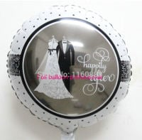 Happily Ever After Vintage Style Wedding Balloon