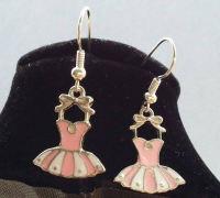 Ballerina Dress Earrings