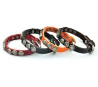 Mens Leather Diesel Design Bracelet - Choice of shades