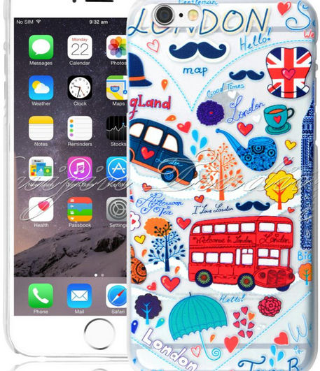 London Design Apple iPhone 6 Silicone Protective Cover