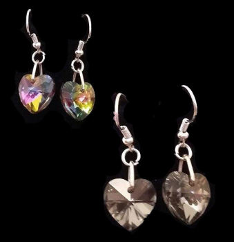 Stunning Austrian Crystal Drop Earrings - Choice of two styles