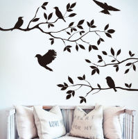 Wall Art Sticker - Birds in a Tree