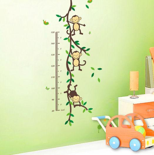 Height Chart Wall Art Sticker