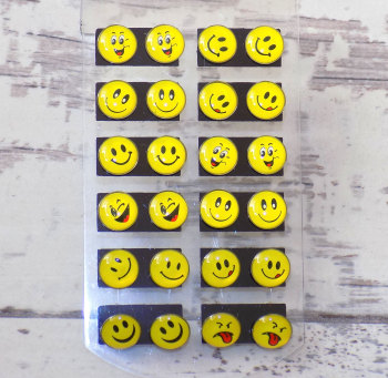 Emoji Smiley Emotion Stud Earrings