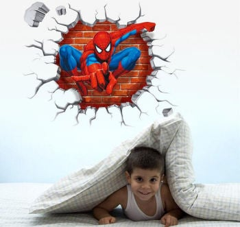 Wall Art Sticker - Spiderman