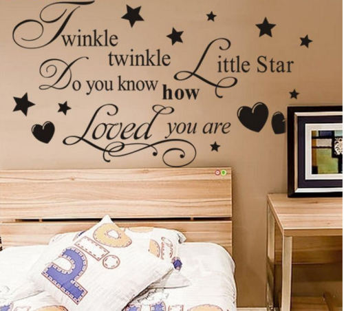 Wall Art Sticker - Twinkle Twinkle