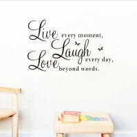 Live, Laugh, Love Wall Art Sticker
