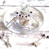 Father's Day Wine Glass Charms
