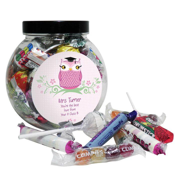 Thank You Teacher Sweet Jar - Personalised