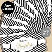 Personalised Wedding Favour Chocolate Bars