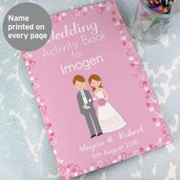 Children's Wedding Activity Book (Girl)