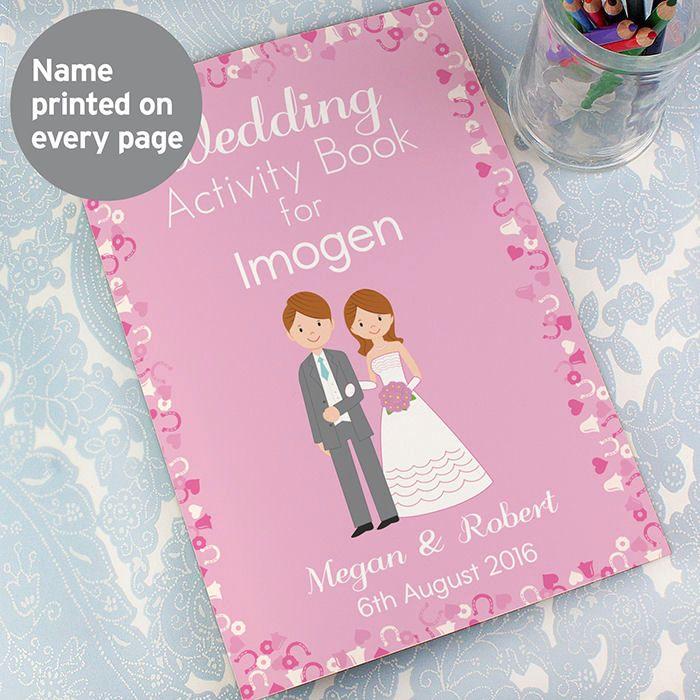 Children's Wedding Activity Book (Girl)
