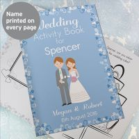 Children's Wedding Activity Book (Boy)