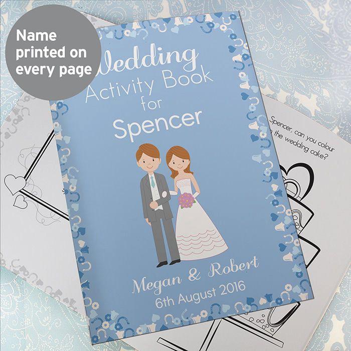 Children's Wedding Activity Book (Boy)