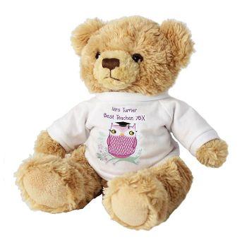 Personalised Owl Bear