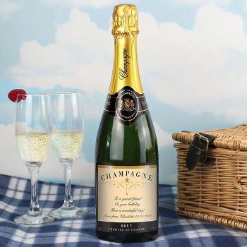 Personalised Champagne (Any Message)