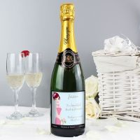 Personalised Champagne (Bridesmaid)