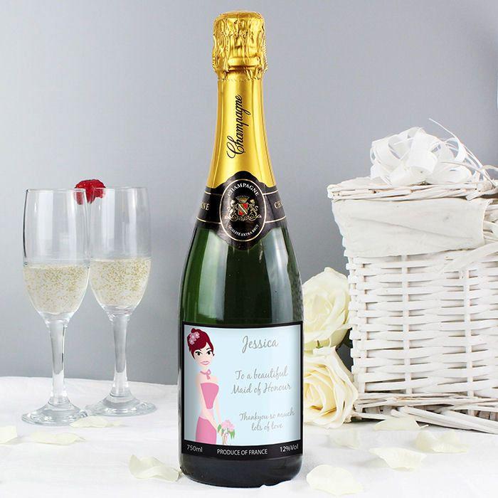 Personalised Champagne (Bridesmaid)