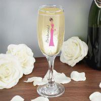 Fabulous Bridesmaid Flute Glass