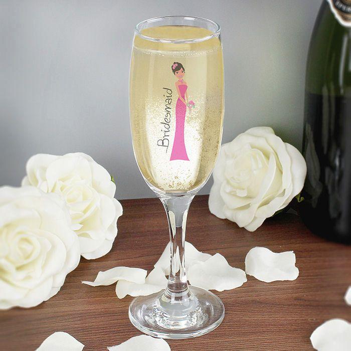Fabulous Bridesmaid Flute Glas