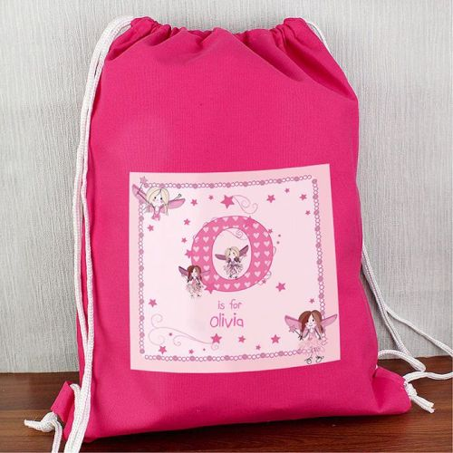 Personalised Back to School Fairy Swim Bag