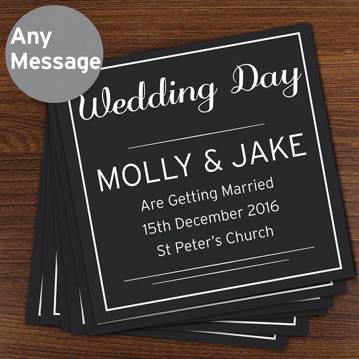 Personalised Wedding Invitations - Classic