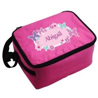Personalised Girls Lunch Bag - Butterfly