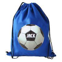 Personalised Back to School Football Swim Bag
