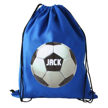 Personalised Back to School Football Swim Bag