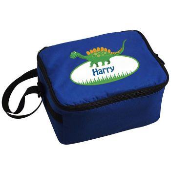 Personalised School Lunch Bag - Dinosaur