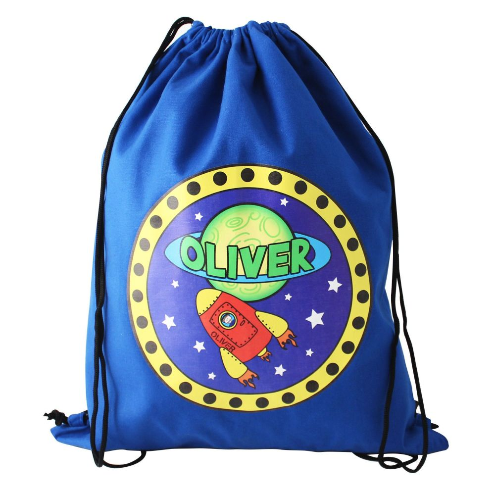 Personalised Back to School Swim Bag - Space