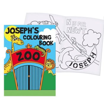 Personalised Colouring Book - Zoo
