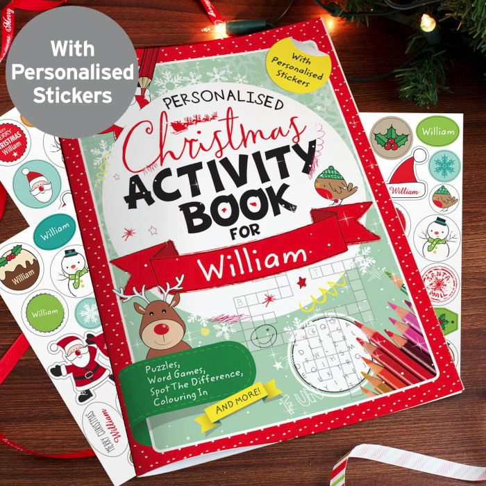 Christmas Activity Book Personalised