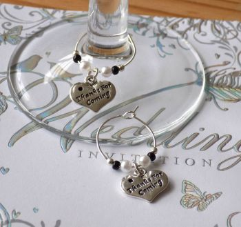 Decorative Wine Glass Charms - Handcrafted in a variety of styles