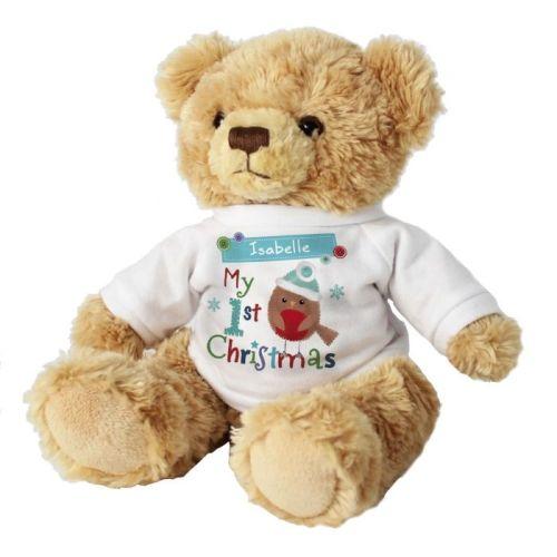 Personalised 'My 1st Christmas' Teddy