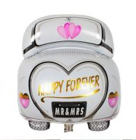 Wedding Car Just Married Foil Balloon - Large Size