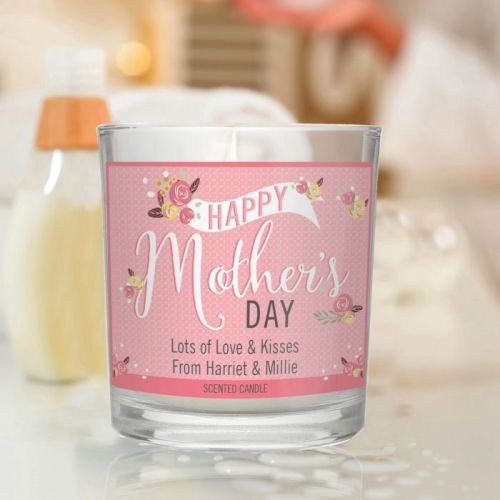 Personalised Mother's Day Scented Jar Candle