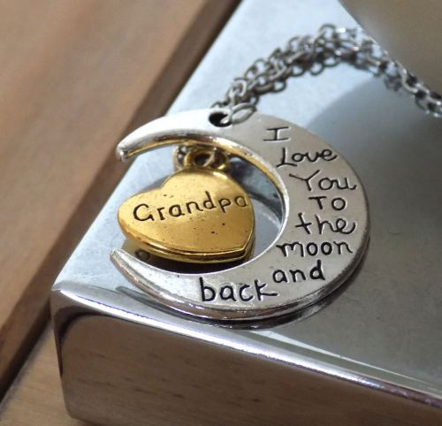 Grandpa Pendant Necklace