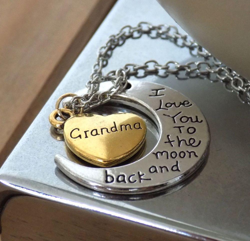 Grandma Pendant Necklace