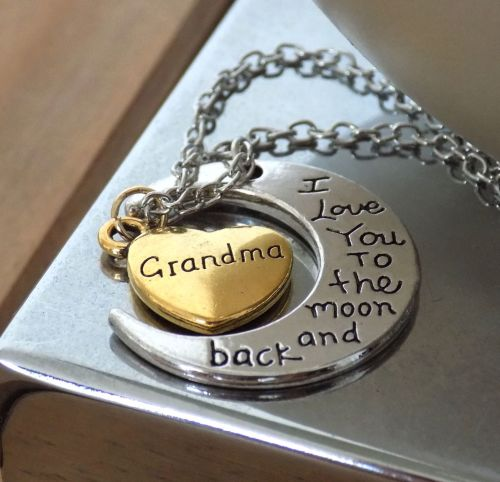 Grandma Pendant Necklace