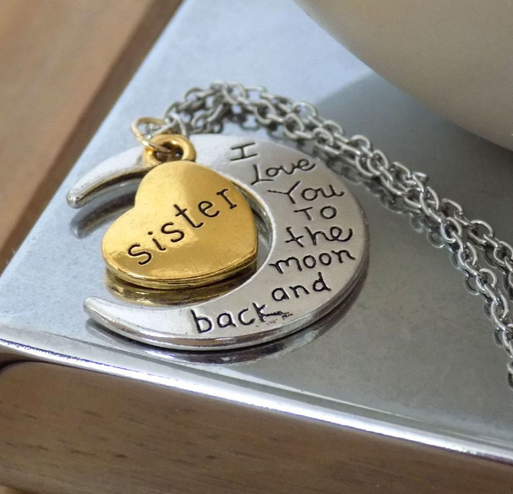 Sister Pendant Necklace